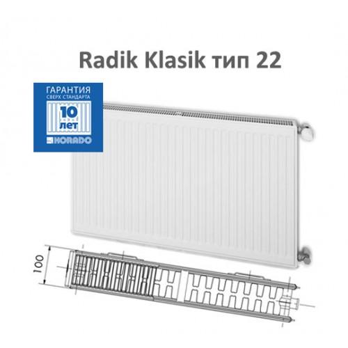 Стальной панельный радиатор Korado Klasik 22